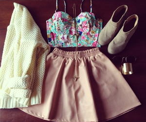 amazing, skirt, and cute shoes image