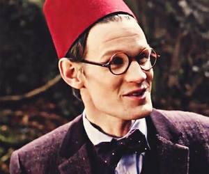 doctor who, fez, and matt smith image