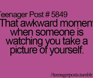 teenager post, awkward, and post image