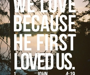 love and god image