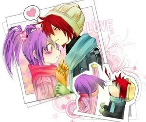 anime, couple, and elsword image
