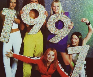1997, girls, and spice girls image