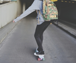 hipster and skate image
