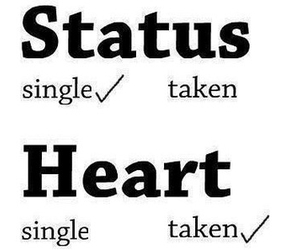 heart, single, and taken image
