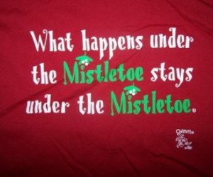 christmas, mistletoe, and kissing quotes image