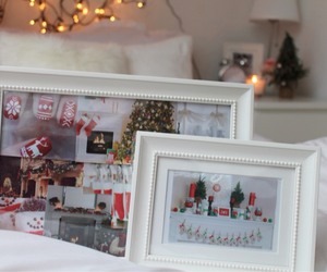 bed, christmas, and nails image