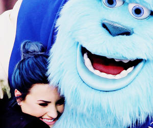 demi lovato, demi, and blue image