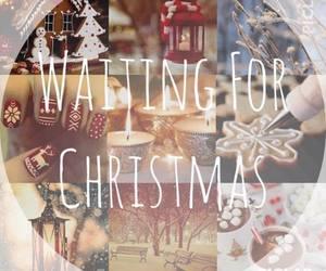 christmas, winter, and waiting image