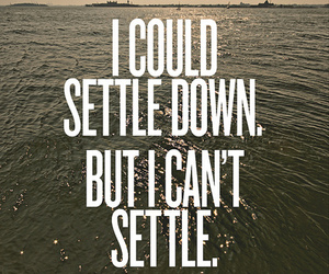 quote, settle, and text image