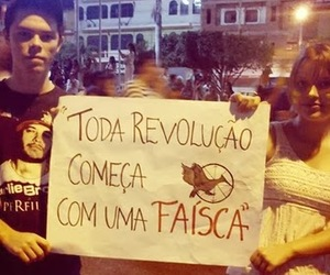 brazil, protesto, and the hunger games image