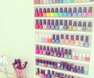 nails, nail polish, and colors image