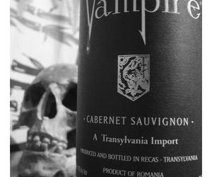 vampire and wine image