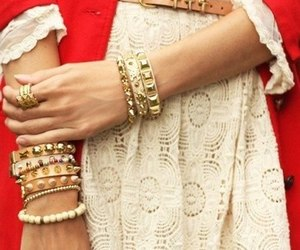 accessories, dress, and fashion image
