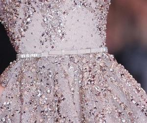 dress, elie saab, and glitter image