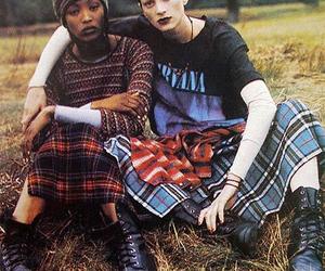 grunge, model, and nirvana image