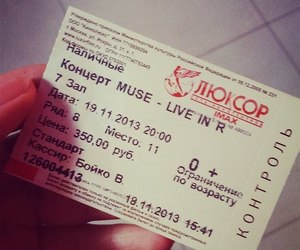 concert, movie, and muse image