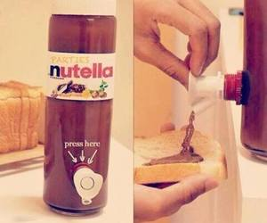 nutella, yum, and gotta love it image