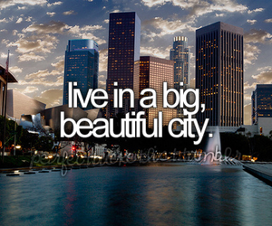 city, beautiful, and live image