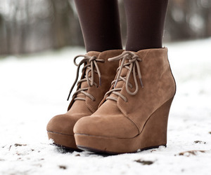 shoes, fashion, and winter image