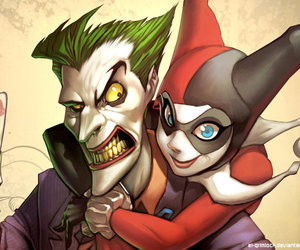 joker, harley quinn, and harley image