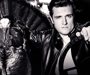 black and white, the hunger games, and hunger games image