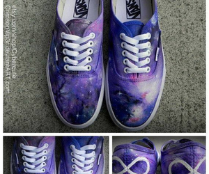 vans, infinity, and galaxy image