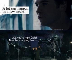 lol, marry, and hunger games image
