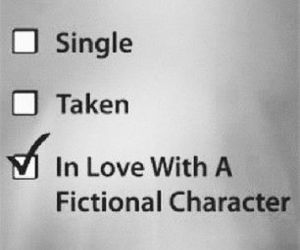 book, love, and fantasy image