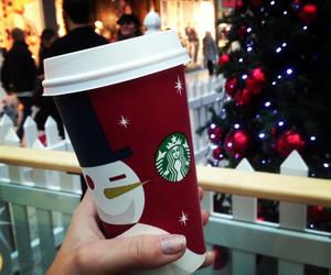 christmas, starbucks, and love image