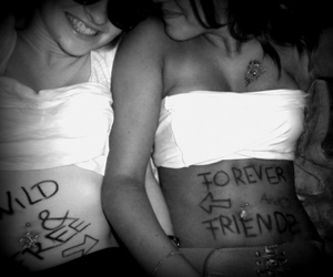 best friends, forever, and free image
