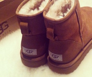 uggs, winter, and boots image