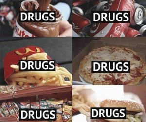 drugs, food, and nutella image