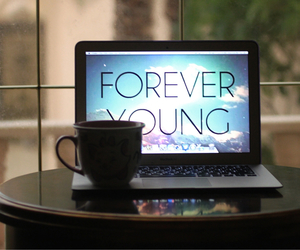 air, coffee, and forever image