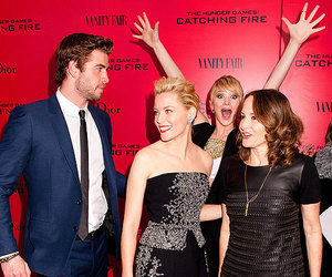 Jennifer Lawrence, hunger games, and liam hemsworth image