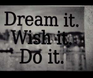 do it and Dream image