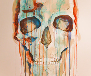 art and skull image