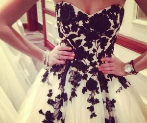 beautiful, Prom, and style image