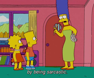 funny, the simpsons, and lisa image