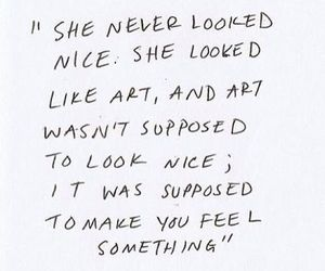 art, girls, and quote image
