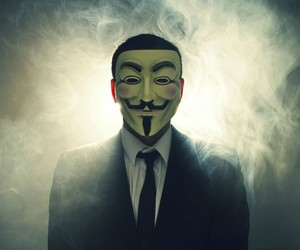 anonymous and mask image