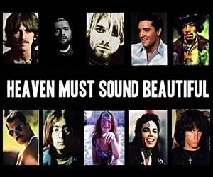 heaven, music, and john lennon image
