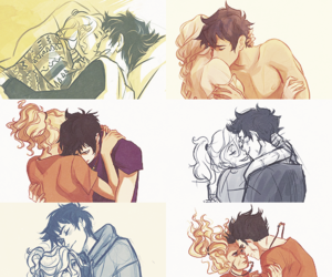 percy jackson, annabeth chase, and percabeth image