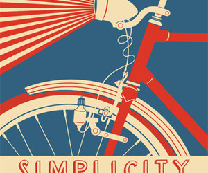 simplicity, bicycle, and bike image