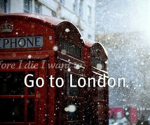 london, snow, and before i die image