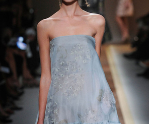 2012, blond, and fashion week image