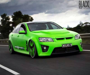 green and holden car image