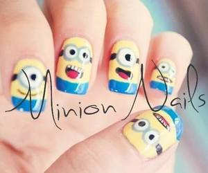 minions, nails, and love image