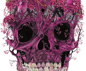 art, death, and flowers image