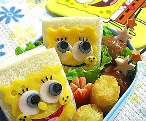 food and spongebob image