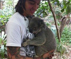pierce the veil, tony perry, and Koala image